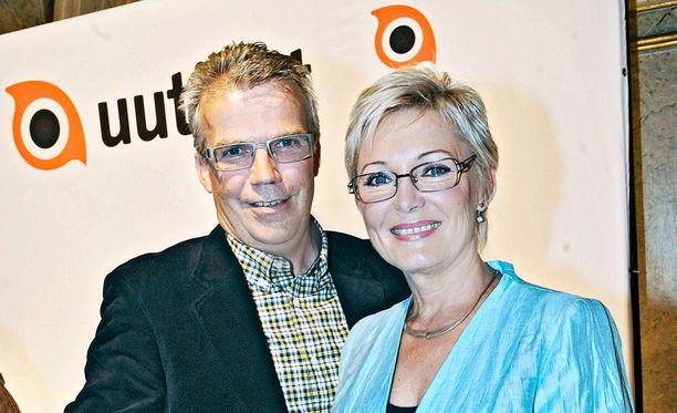 Keijo Leppänen vihjasi Nuotion eläkepäivistä lähetyksessä.