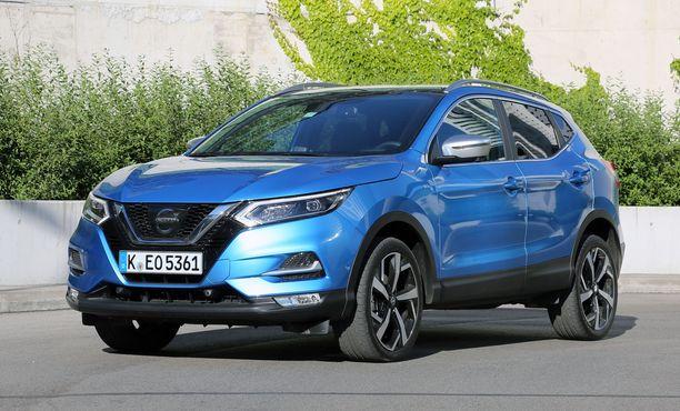 Nissan Qashqain 1,6-litraisen suosikkimallin hinnasta lähtee tonni pois.