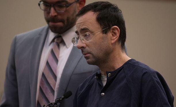 Larry Nassar on joutumassa vankilaan loppuelämäkseen.