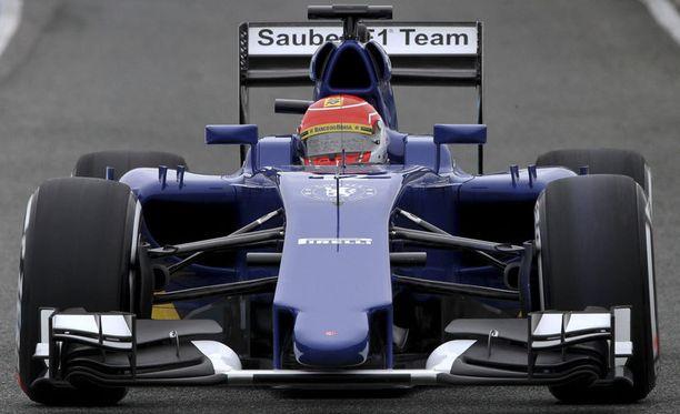 Felipe Nasrin Sauberissa on slicksit kuin malliksi.