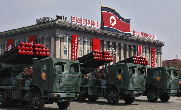 Pohjois-Korean propagandakoneiston julkaisema video on sotilaallista pullistelua, jossa esitetään uhkaus Yhdysvalloille.