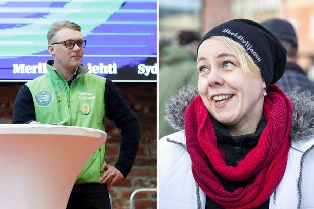 Keskustan Mikko Uusitalo ja SDP:n Heidi Viljanen saavat vielä jännittää tarkastuslaskentaa Satakunnassa.