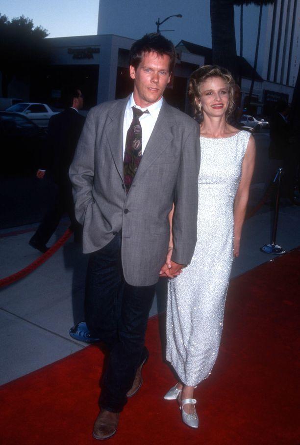 Ja tältä pariskunta näytti vuonna 1993.