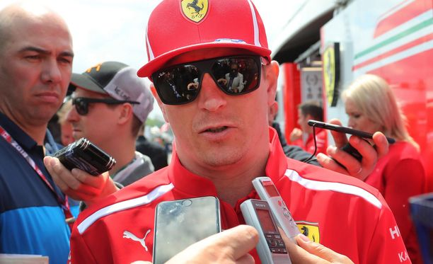 Kimi Räikkönen ajoi mallikkaasti perjantain harjoituksissa.