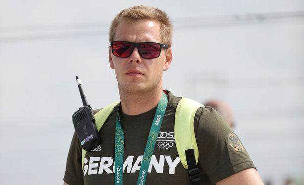 Stefan Henze joutui vakavaan kolariin. Kuva Riosta viime viikon sunnuntailta.