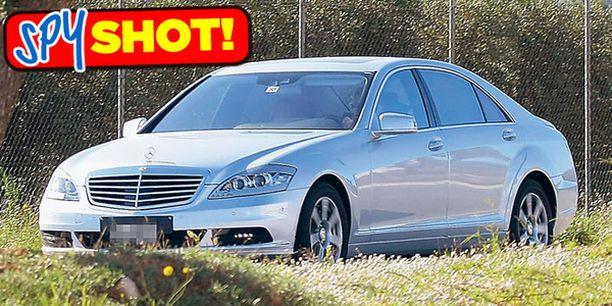 UUSI ILME S-sarjan Mercedes saa faceliftin keväällä.