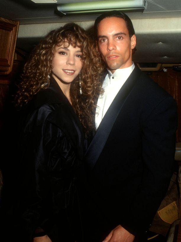 Mariah ja Morgan Carey kuvattuina vuonna 1991.