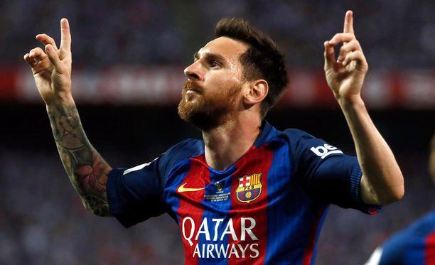 Lionel Messi nähdään jatkossakin Camp Noulla.