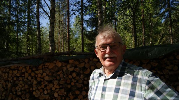 Veikko Niemelä tuotteistaisi Luusuan kylän historiasta kulttuurikierroksia.