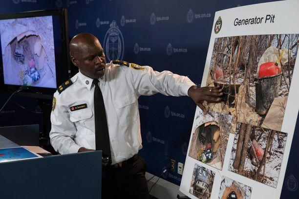 Varapoliisipäällikkö Mark Saunders esitteli tunnelia helmikuun lopulla ja teki samalla uutisesta maailmanlaajuisen.