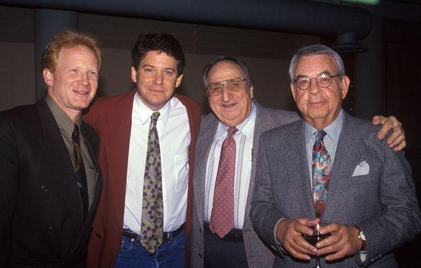 Al Molinaro on kuvassa toinen oikealta. Seurana ovat Onnen päivät -kollegat Tom Bosley, Danny Most ja Anson Williams.