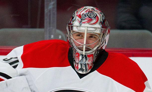 Cam Ward on pelannut NHL:ssä yli 10 vuoden ajan.