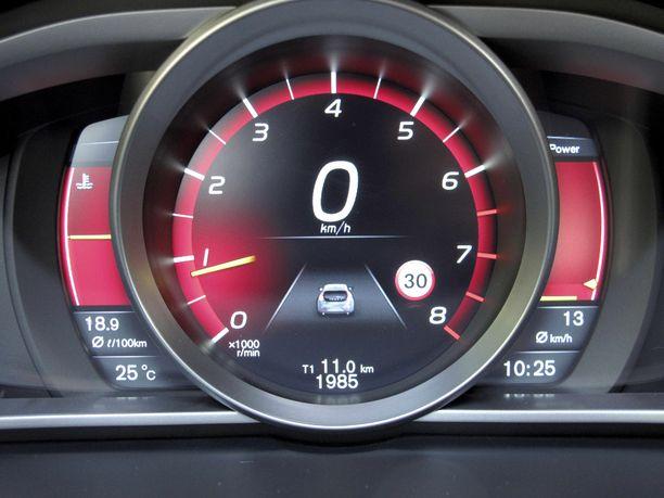 Liikennemerkkien tunnistusjärjestelmät ovat yleistyneet.