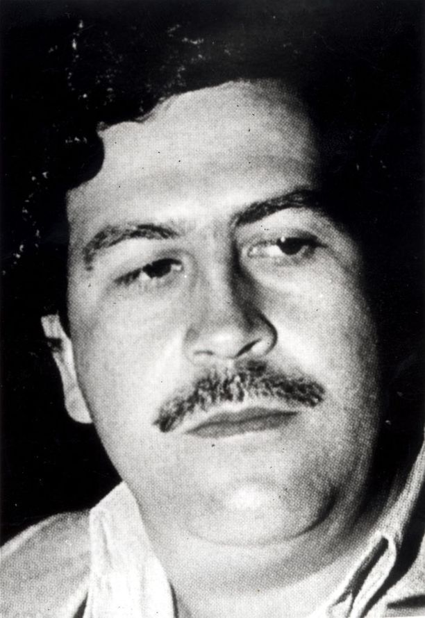 Pablo Escobar kuoli 44-vuotiaana.