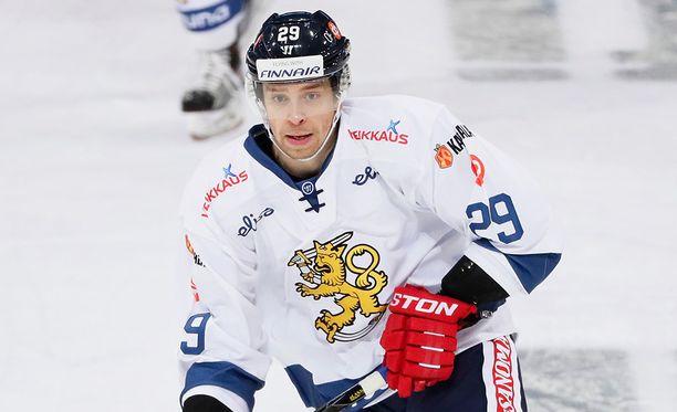 Sakari Salminen putosi KHL-kelkasta.