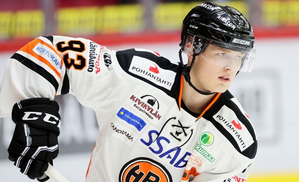 SHL:n Frölundasta loppusyksyn HPK:ssa lainalla pelannut Kristian Vesalainen on niitä pelaajia, joilta voi odottaa tehoja nuorten MM-kisoissa.