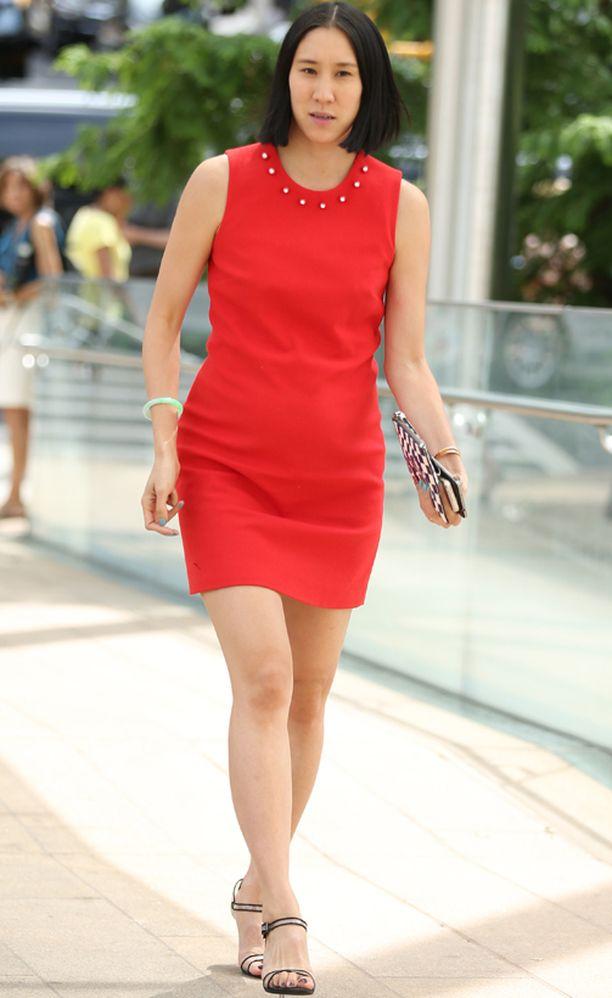 Lucky-lehden päätoimittaja ja fashionista Eva Chen.