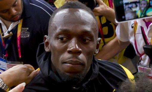 Usain Boltin ura loppui pettymykseen Lontoon MM-kisoissa.