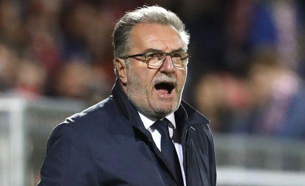 Ottelu Suomea vastaan jäi Ante Cacicin viimeiseksi Kroatian peräsimessä.