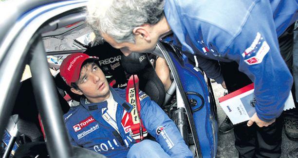 Sebastien Loeb ei häiriintynyt nuotitusskandaalista, vaan keskittyi ajamiseen.