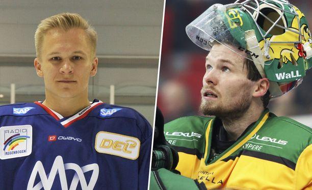 Jan-Mikael Järvinen ja Riku Helenius jättävät tämän kauden seuransa.