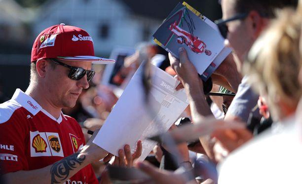 Kimi Räikkösen 20 F1-voitosta peräti neljä on ajettu Belgiassa.