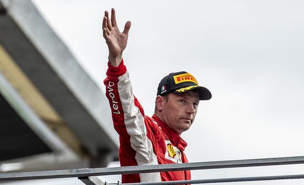 Kimi Räikkönen saapui Ferrarille kaudeksi 2007.