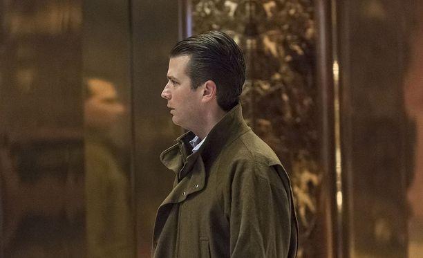 Yhdysvaltain kongresin edustajainhuoneen tiedustelukomitea kuulusteli Donald Trump Junioria osana sen Venäjä-tutkintaa.