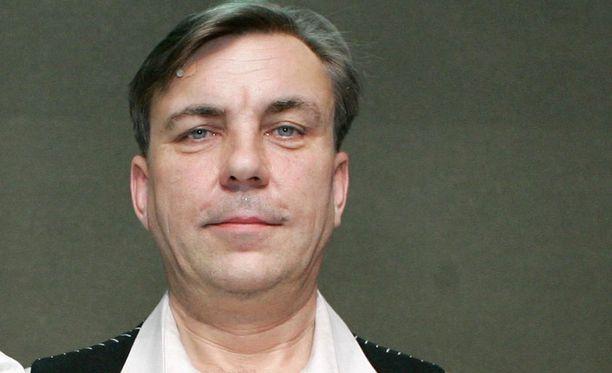 Pekka Valkeejärvi näytteli pitkään KOM-teatterissa.