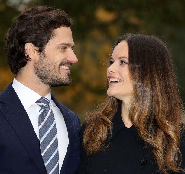 Carl Philip ja Sofia ovat olleet yhdessä vuodesta 2010 lähtien.