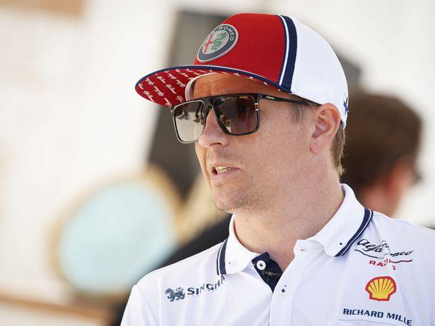 Kimi Räikkönen kaasutteli kahdeksanneksi Ranskassa.