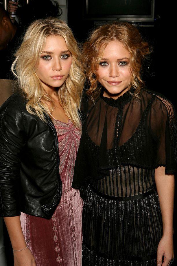 2006: Olsenit vierailivat Badgley Mischkan syksyn muotinäytöksessä.