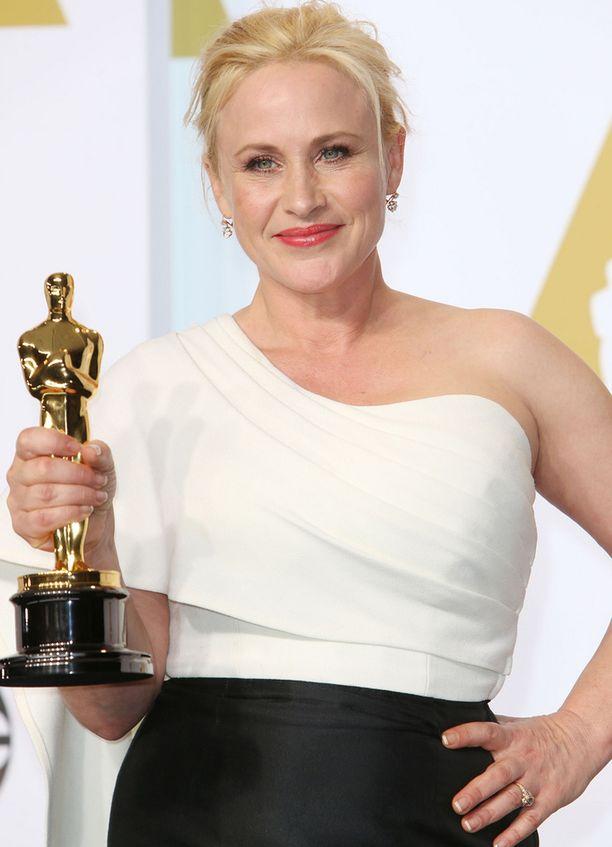 Patricia Arquette voitti vastikään Oscarin.