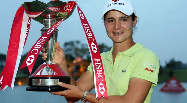 Lorena Ochoa (kuvassa) ihailee uraansa lopettavaa Annika Sörenstamia.