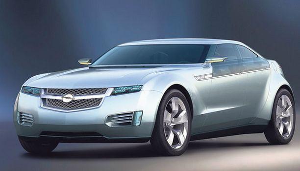 OPEL Chevrolet Volt saa Euroopassa Opelin salaman keulalleen.