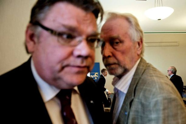 Työmies Matti Putkonen kuuluu puoluejohtaja Timo Soinin lähimpiin avustajiin.