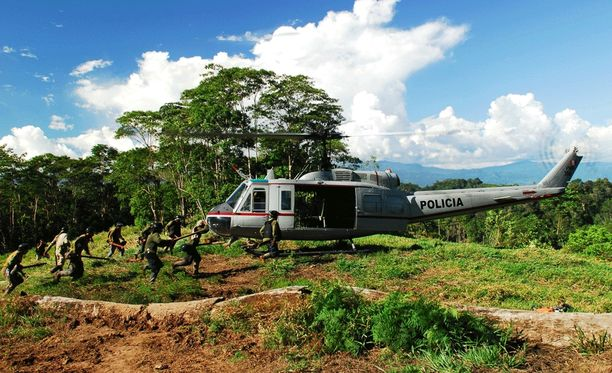 Peru on yhdessä Kolumbian kanssa maailman suurin kokaiinin tuottaja.