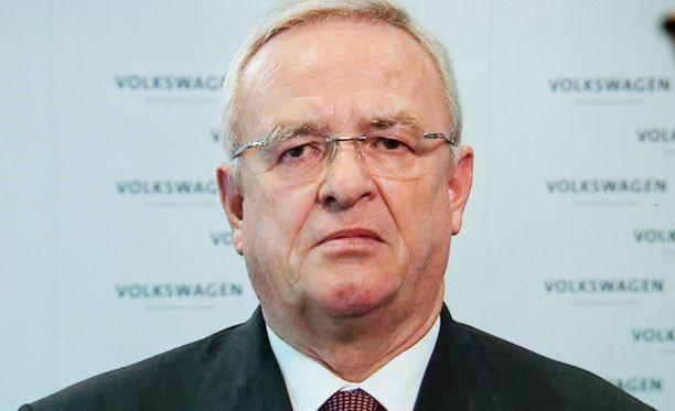Volkswagenin pääjohtaja Martin Winterkorn.