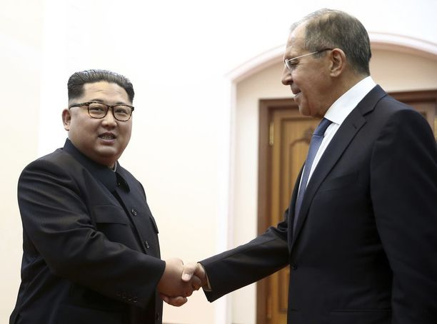 Sergei Lavrov ehti tavata Kim Jong-unin ennen Donald Trumpia.
