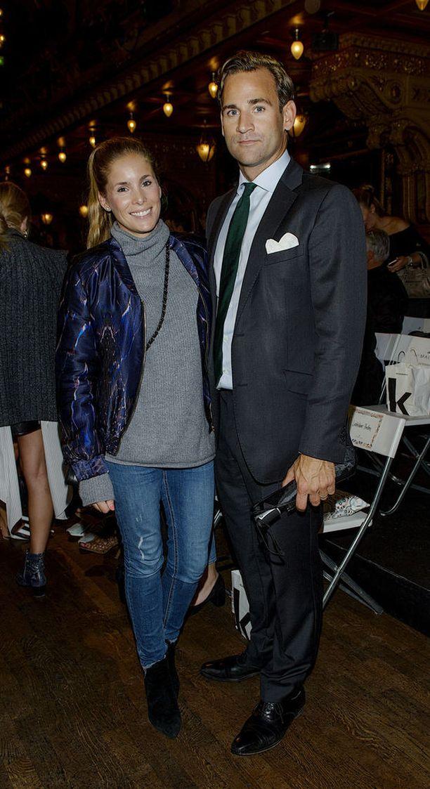 Jonas Bergström, 39, on naimisissa prinsessa Madeleinen entisen hyvän ystävän, Stephanie af Kleckerin kanssa.