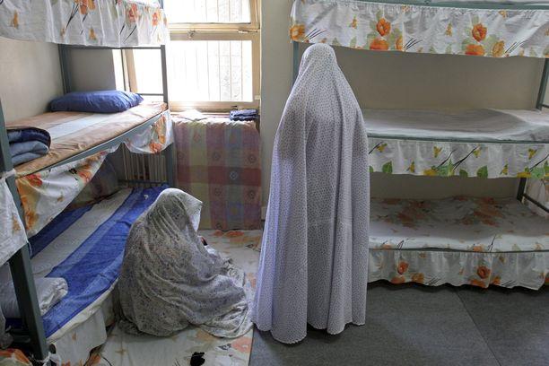 Naisia säilytetään pahamaineisessa Evinin vankilassa. (Kuvituskuva)