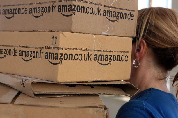 Amazonilla oli viime vuonna yli 600 000 työntekijää.