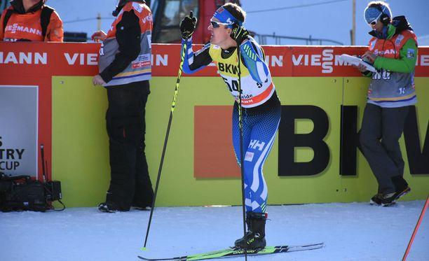 Sami Jauhojärven urakka Tour de Skin avanneessa vapaan sprintissä päättyi aika-ajoon.