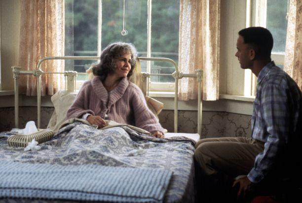 Sally Field ja Tom Hanks elokuvassa Forrest Gump.