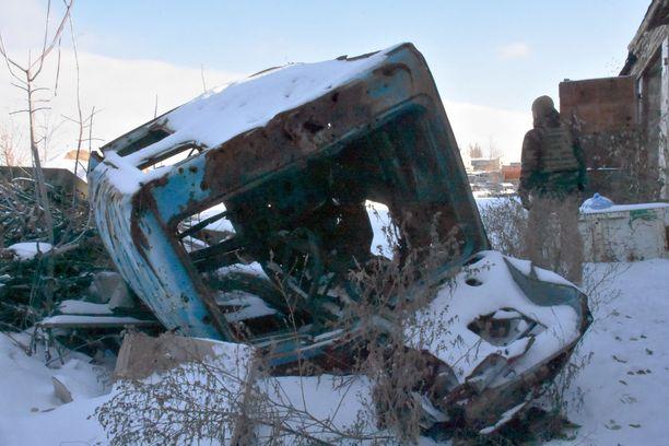 Ukrainassa on sota käynnissä viidettä vuotta.