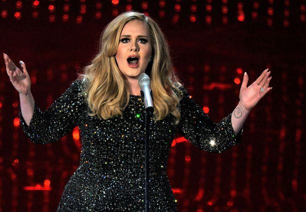 Adele ei halua Trumpin soittavan musiikkiaan kuulijoilleen.