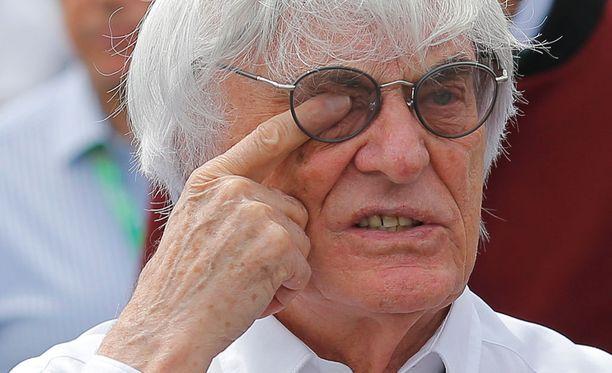 Bernie Ecclestone täyttää lokakuussa jo 85 vuotta.
