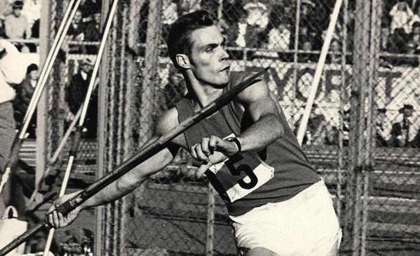 Pauli Nevala oli parhaana suomalaisena neljäs vuoden 1966 EM-kisoissa Budapestissä.