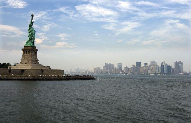 New Yorkin hintaso nousi vertailun mukaan selvästi vuotta aikaisemmasta.