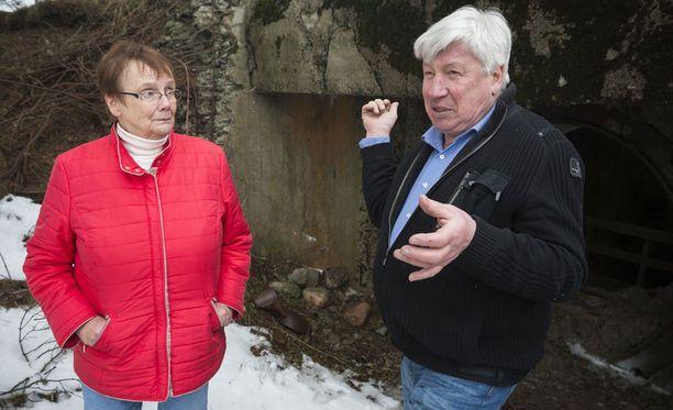 Lena Selen ja Berndt Gottberg Porkkalassa.